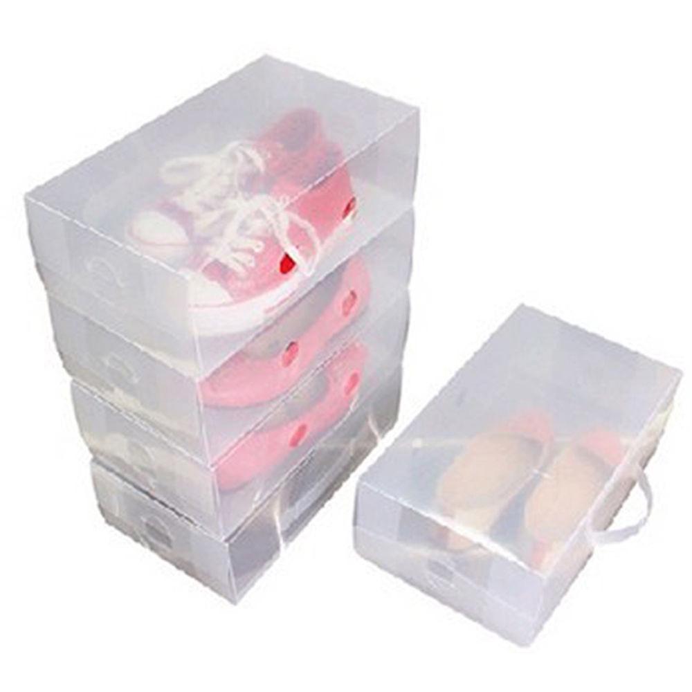 Stackable Plastic Shoe Boxes