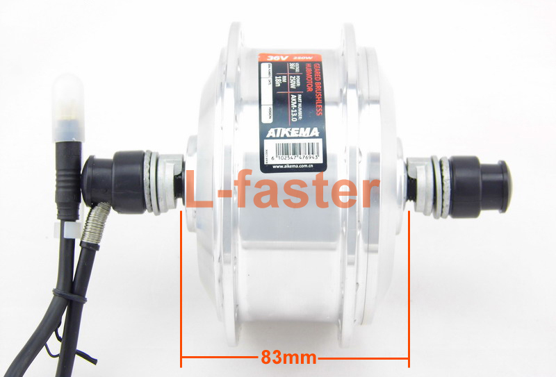 36V 250W Electric Folding Bike Hub Motor The Most Narrow Hub Motor For Electric Bike Motor Width 83mm AKM Smallest Spoke Motor(China (Mainland))