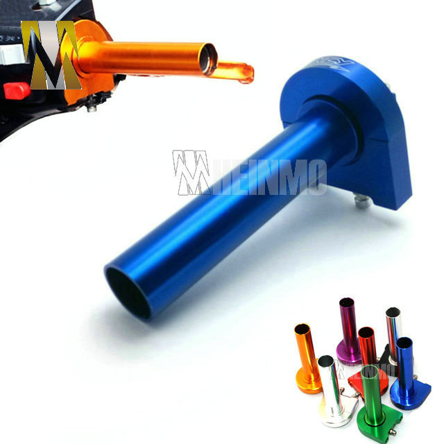Seven Colors Options ATV CNC Aluminum Grip throttle settle Handle bar gas throttles for Pedal scooter kawasaki Honda(China (Mainland))