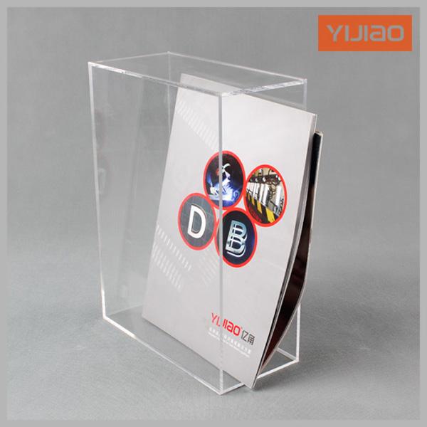 Transparent acrylic file holder transparent file box acrylic storage box finishing cabinet data rack multi-layer(China (Mainland))