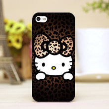 PZ0007-1-6 For hello kitty Design Design cellphone transparent case cover for iphone cases for iphone 4 5 5c 5s 6 6plus