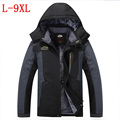 autumn winter new Plus thick velvet jacket Men s casual coat jacket Windand waterproof anti cold