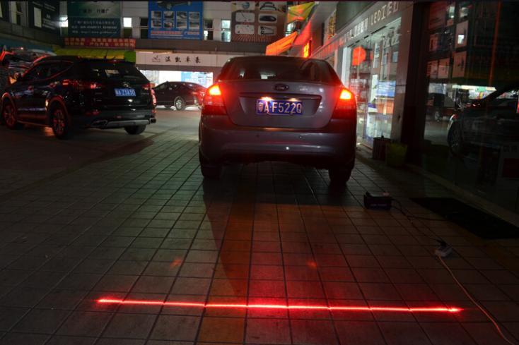 Rear-end Auto Anti-collision Laser Fog Lamp Anti-fog Parking Stop Brake Car LED Warning Light for Volvo Seat Suzuki Lexus(China (Mainland))