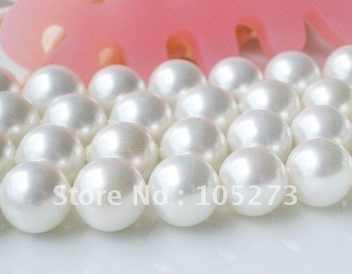 Charming! Loose BeadS AAA 12MM white Mother-of-pearl Strand 16inch (40cm) For Making bracelet necklace jewelry New Free Shipping<br><br>Aliexpress