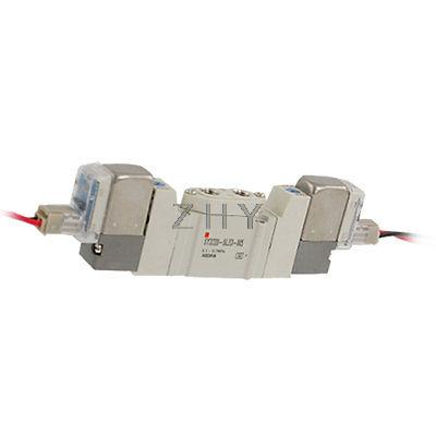 SY3220-5LZD-M5 2 Position Double Actuation 5 Port Solenoid Valve DC24V(China (Mainland))