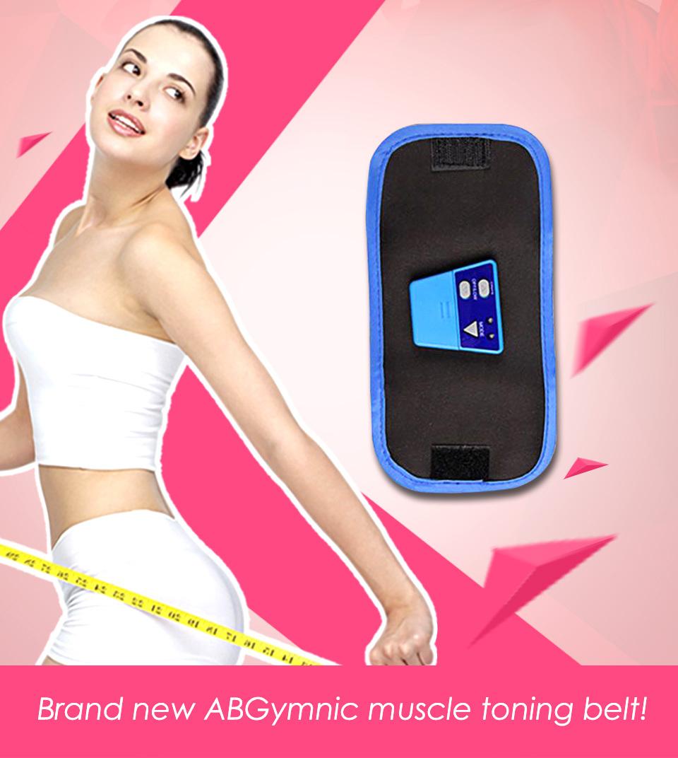 AB Gymnic ABGymnic Muscle Exercise Toner Toning Belts(China (Mainland))