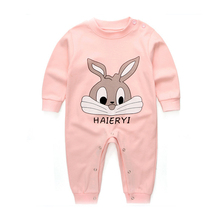Buy Roupa Infantil Menina NB Newborn Clothes Boy Girl Romper Baby Cotton Cartoon Rabbit Infant Jumpsuit Spring Autumn Clothing for $6.82 in AliExpress store