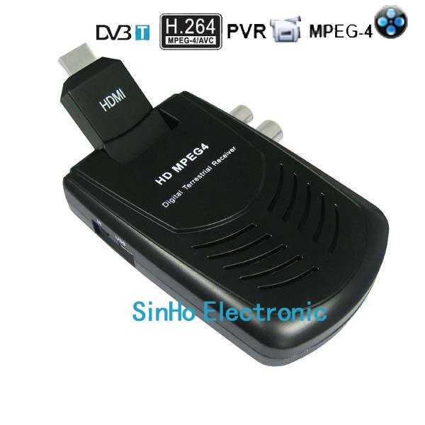 DVB-9006/Support Full HD 1080P H.264/Mpeg4 Mini Scart Terrestrial Receiver Tv Tuner Dvb-t Freeview HDTV(China (Mainland))