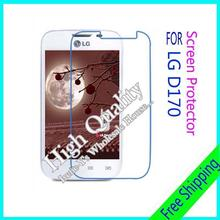 3pcs For LG D170 Clear Glossy Screen Protector, Screen Protective Film For LG D170 With Cloth