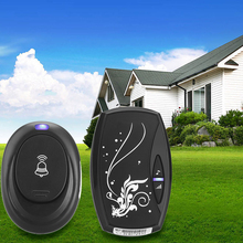 LS4G Free Shipping36 Songs Wireless Receiver Remote Control 100M Waterproof Doorbell Door(China (Mainland))