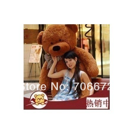 New stuffed dark brown teddy bear Plush 120 cm Doll 47 inch Toy gift wb8467<br><br>Aliexpress