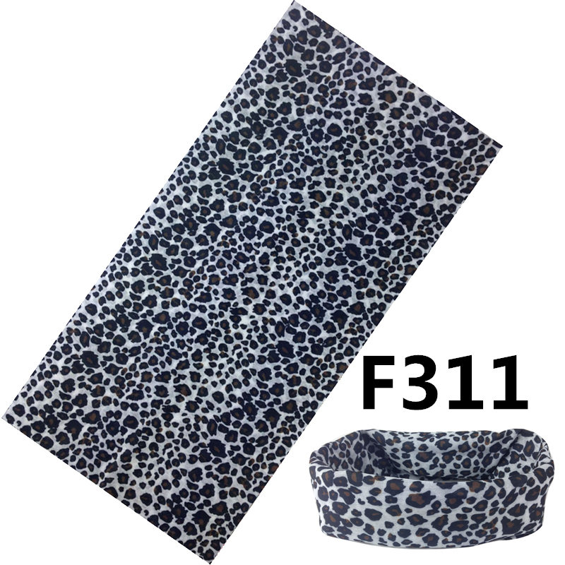 Unisex Women Men Magic Winter Bufandas Cuellos Sports Cycling Leopard Scarves Snood Neck Warm Ski Balaclava Bandana No.F311(China (Mainland))