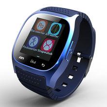 Original Bluetooth Smartwatch Smart Watch M26 Clock Barometer Alitmeter MusicPedometer Android IOS Phone Pk U8 U80 W8 - Yilizomana Store store