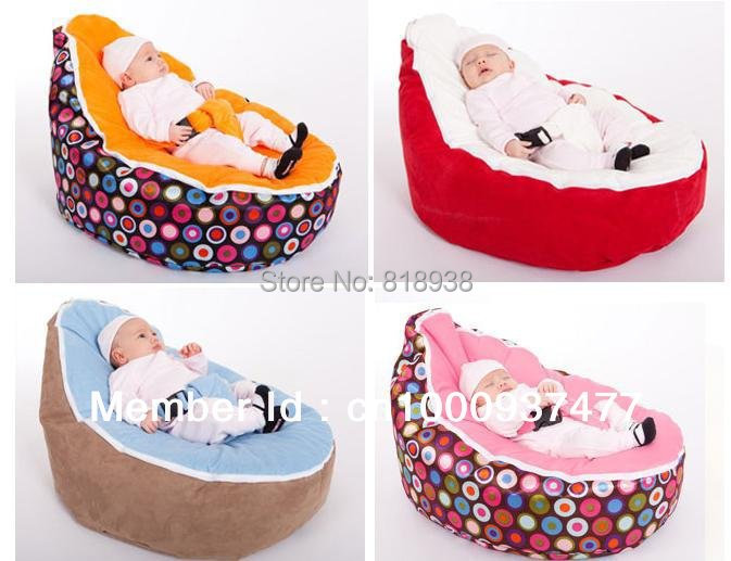 Hot Selling 2015 Baby Beanbag,Baby Beanbag Cover,Baby Crib,Round Shape And The Mother's Best Love(China (Mainland))