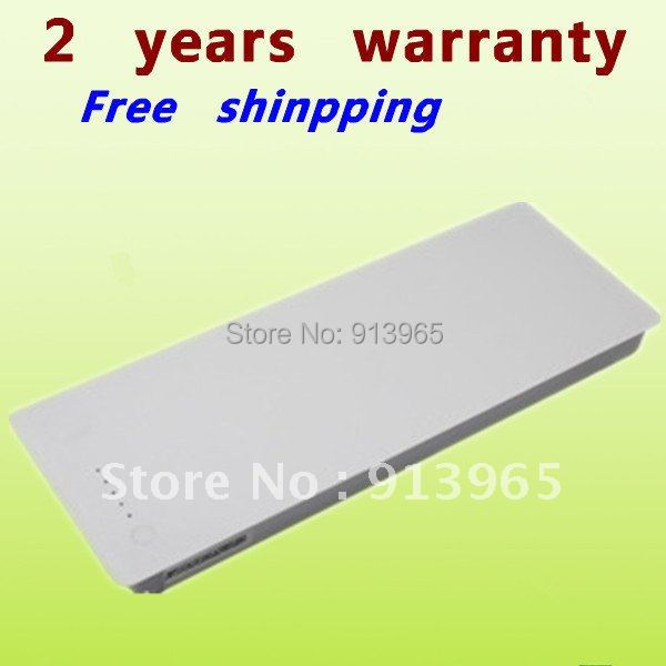 """White+NEW+Replacement laptop Battery for Apple Apple MA561 MacBook 13"""" A1185 A1181 MA700J/A MA699TA/A MA255SA/A MB061B/A(China (Mainland))"""