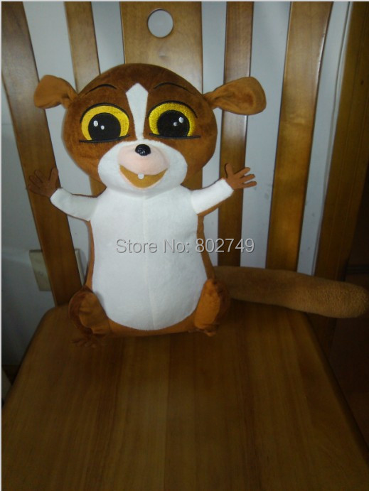 Madagascar 2 Penguins Mort the Lemur 55cm  Plush Doll PP Cotton Handmade