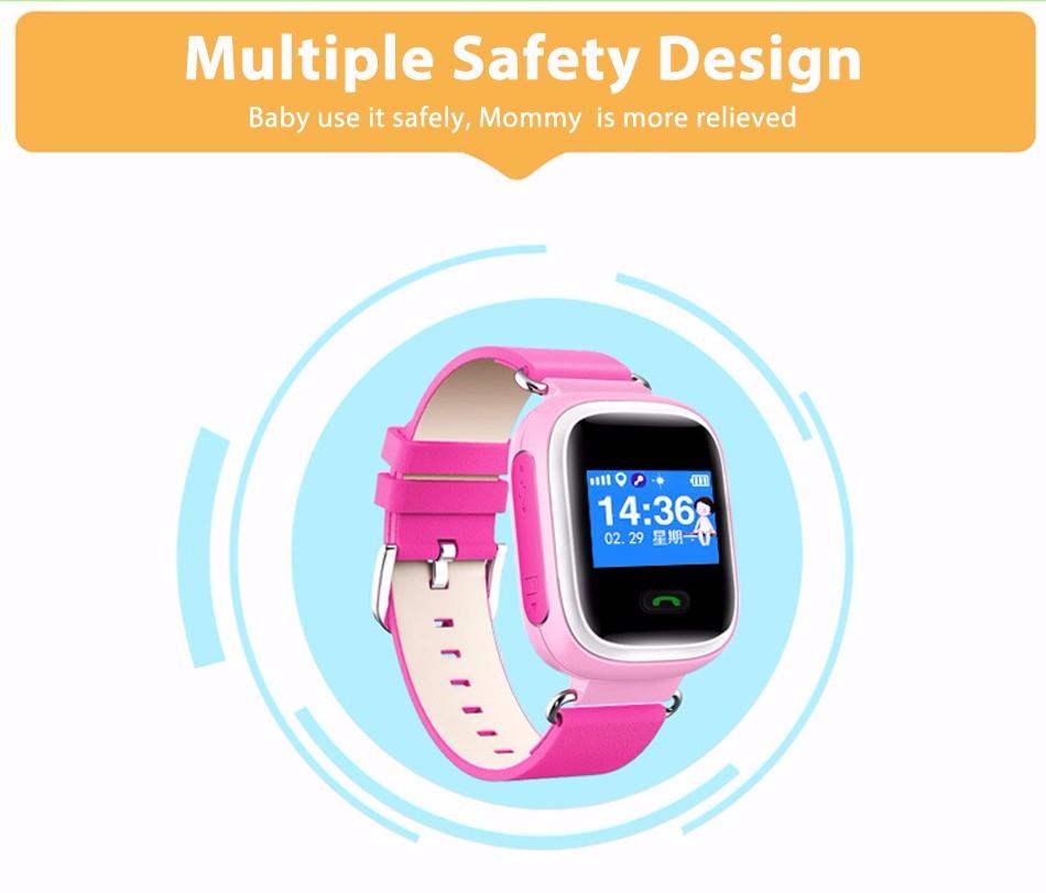 ถูก YQTที่มีสีสันจีพีเอสQ60สมาร์ทนาฬิกานาฬิกาข้อมือGPS/GSM SOSสถานที่ตั้งFinder L Ocatorอุปกรณ์ติดตามเด็กปลอดภัยป้องกันหายไปตรวจสอบ