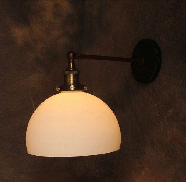 New Vintage Small Wall Light RH Loft l Lamps for Home Decoration Restaurant Dinning Room E27 220V-240V 40W bulb,Free Shipping