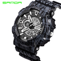 Sanda S Shock Men Sports Watches 30M Swim LED Digital Military Watch Fashion Outdoor Wristwatches Waterproof