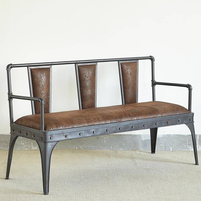 New antique wrought iron velvet divan leather sofa chairs for Vintage divan sofa