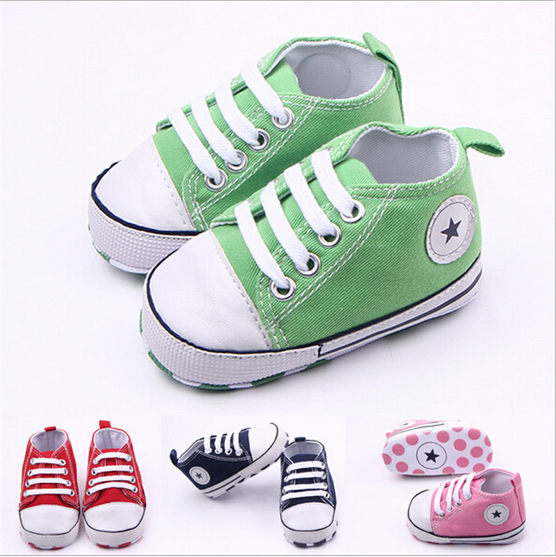 New Baby Canvas Shoes Infants Boys Girls Sports Shoes Soft Bottom Anti-slip Toddlers Bebe Sneakers(China (Mainland))