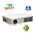 Smart Bluetooth Android 4 4 Wifi HDMI USB TF Blue Ray 4K3D Pico Portable HD 1080P