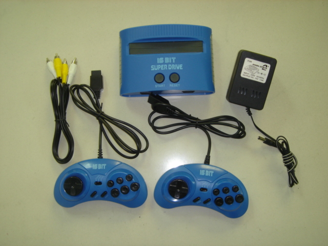 NTSC System Kong feng SUPER Dirve Video Game Consoles16 bit Classic Kong feng bread TV game consoles support sega 16bit md games(China (Mainland))