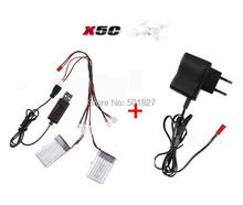 Buy YUKALA X5C X5 X5SC X5SW CX-30 Quadcopter RC helicopter 3.7V 600mAh Lipo Battery + wall charger free for $15.77 in AliExpress store