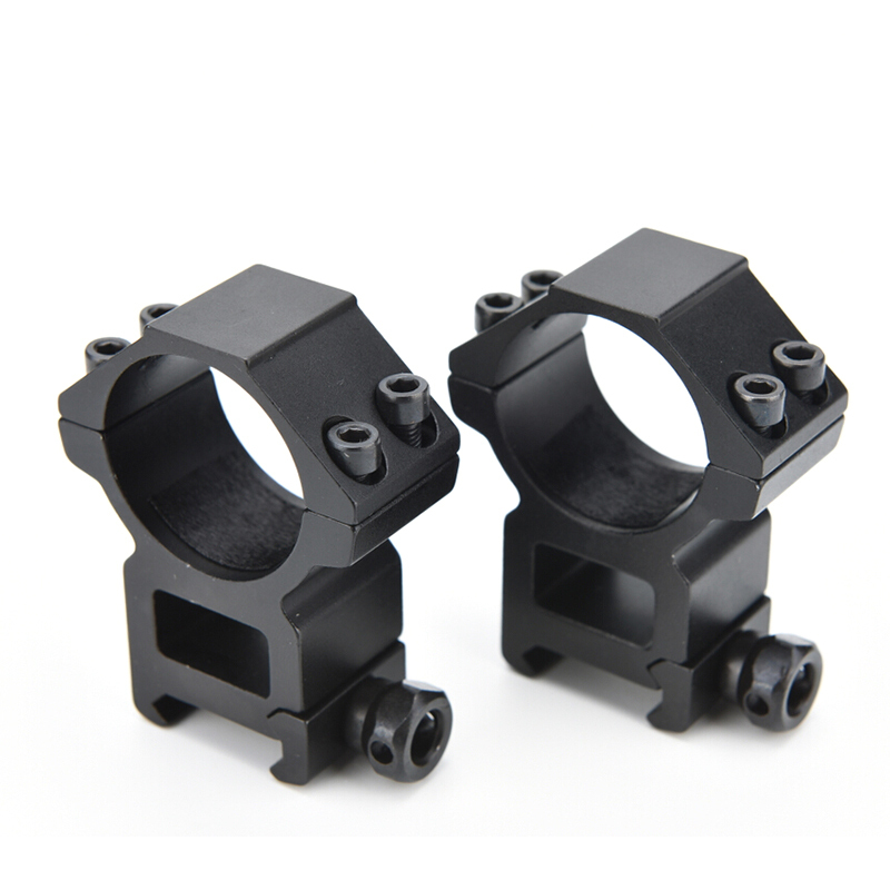 2PCS Optical Sight Bracket Metal Dovetail Rifle Scope Mount Ring Weaver High 20mm Mount Dia 30mm Outdoor Hunting Gun Accessories<br><br>Aliexpress