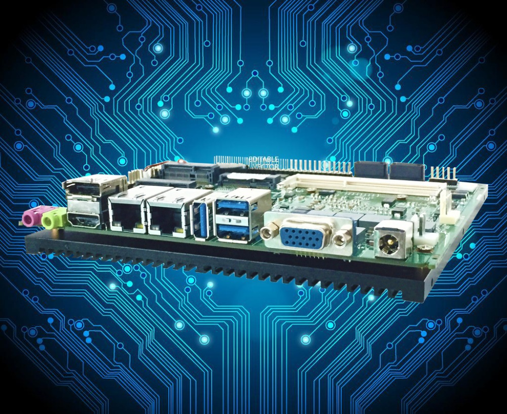 I5 Processor 3.5'' fanless motherboard with 2Gb Ram (PCM3-QM77)(China (Mainland))