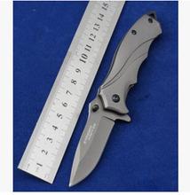 2015 nueva multifunción cuchillos de hoja plegable cuchillo que acampa al aire supervivencia del cuchillo de caza del cuchillo herramienta regalo a parte