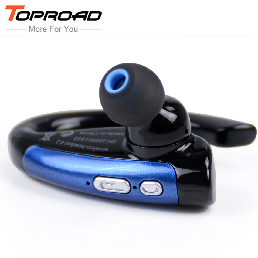 Stereo Wireless Auriculares Bluetooth V4.1 Headset For Safe Driving Hands free Calling Headphones In Ear Earphones Music Playing(China (Mainland))