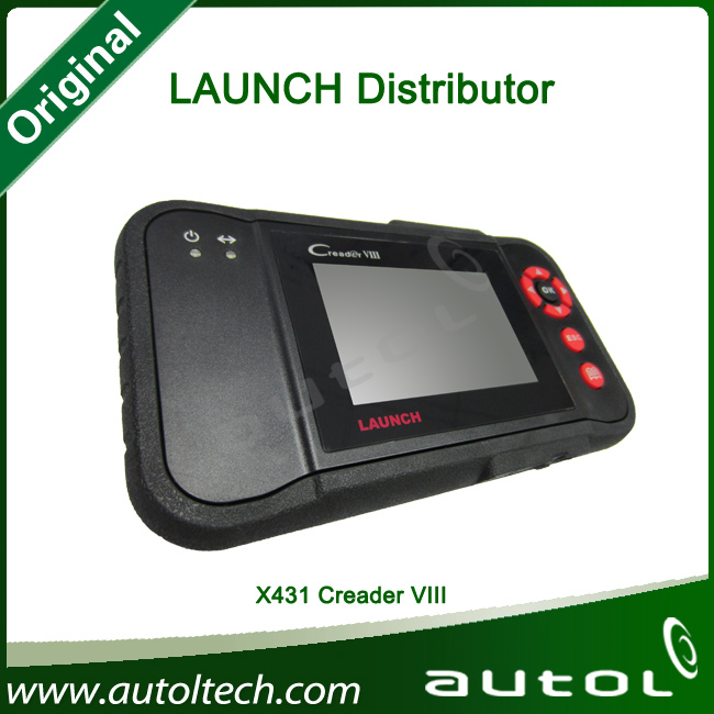 Free Shipping by DHL OBDII Code Reader 2013 Launch X431 Creader VIII Creader8 Launch Creader VIII C8 Comprehensive Scanner(China (Mainland))