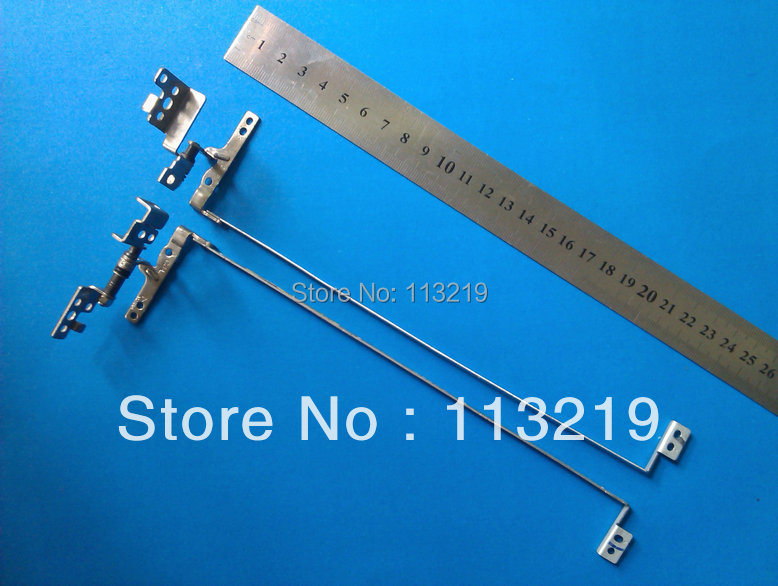 Genuine wholesale Price For Lenovo G580 G585 Notebook Lcd Screen Hinges Kit 100% New (10 pairs/Lot)(China (Mainland))