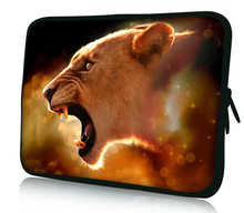 free shipping many lion face figure styles laptop & tablet accessories laptop sleeve bag 13″13.3″ for macbook air/pro etc.