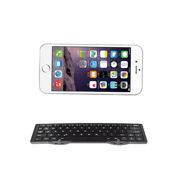 Charging Universal Wireless Bluetooth Keyboard Mini Folding Keyboard for IOS/Android for IPHONE 6 4.7-inch(China (Mainland))