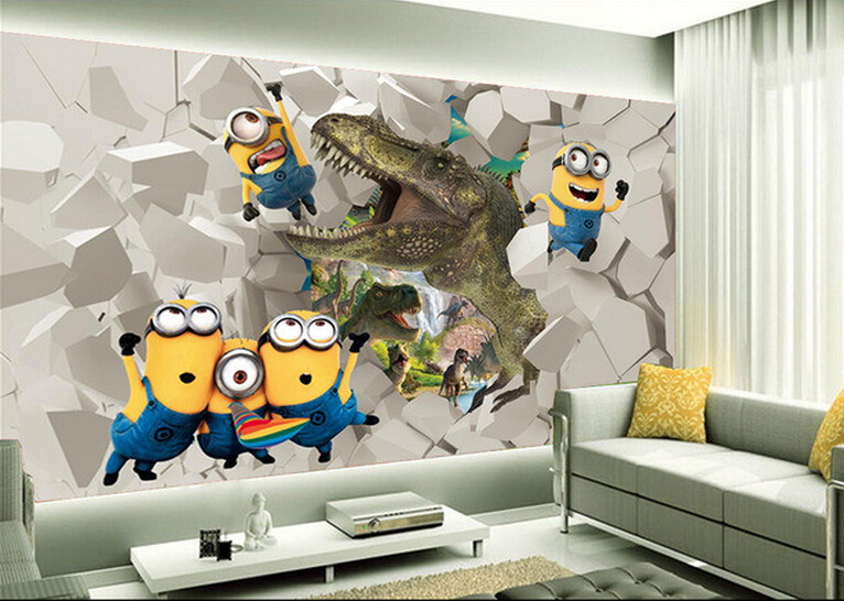 Image gallery imagenes murales en 3d - Decoracion pared fotos ...