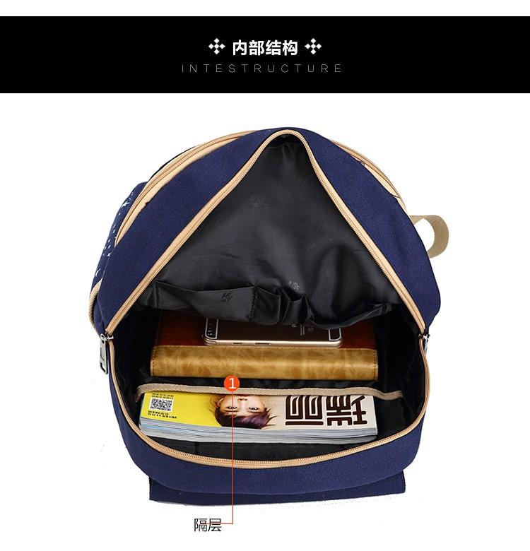 FREE SHIPPING 2016 Girls Backpacks Printing Bookbag Women Backpack With Bear School Bags For Teenagers Cute Backpack