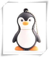 penguin baby USB 2.0 flash memory stick pen drive U Disk Festival Thumb/Car/Pen Gift 4GB-64GB S226(China (Mainland))