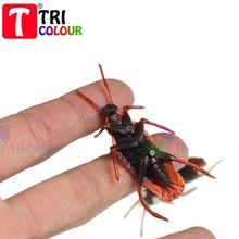 Wholesale Halloween trick toy simulation cockroaches joke toy prank props 100pcs/lot #LS116(China (Mainland))