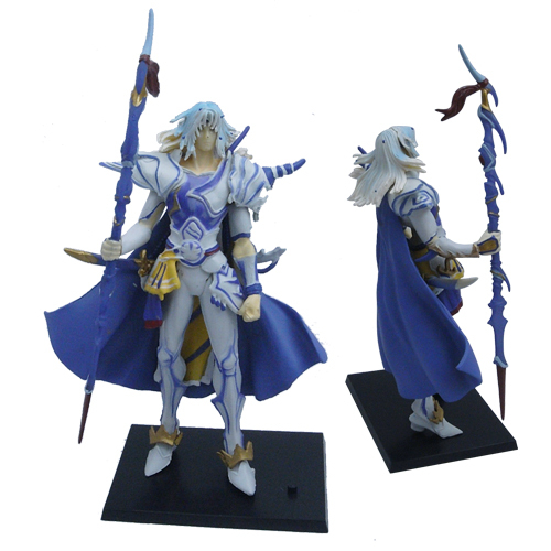 11.3cm = 4.52'' Action Fighting Figure From Final Fantasy China Ver.(China (Mainland))