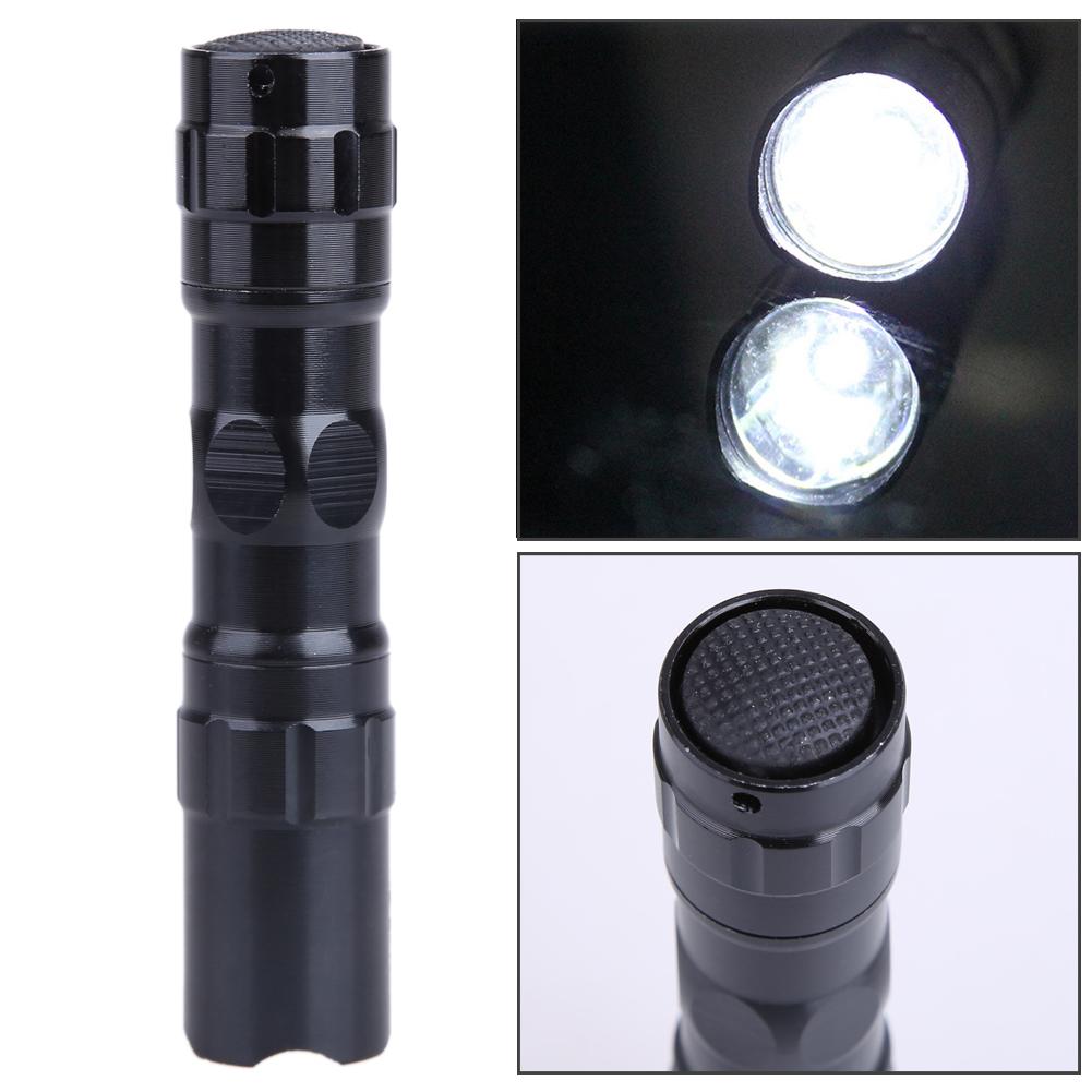 Mini Handy Linterna LED Flashlight Waterproof Lamp Aluminum Alloy Police Portable Lantern Light