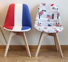 chair modern fashion leisure chair designer should home office chair simple skin coffee chair(China (Mainland))