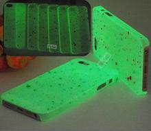 Чехол, пятна Creative дизайн светящийся светится в темноте телефон раковина кожи для Apple iPhone5S iPhone5 чехол для iPhone 5 iPhone 5 S — и K