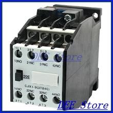 CJX1-9 3 Pole 2NO 2NC 220V 50HZ Coil AC Contactor for Motor Control