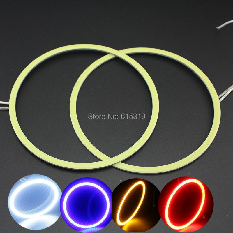 Free Shipping!1pair(2pcs) 110MM Car Led Headlight COB Angel Eye LED CCFL Halo Ring Angel Eyes Warning Lamps<br><br>Aliexpress