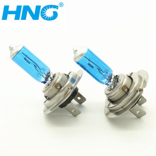 HNG H7 12V 55W Super Bright White Fog Lights Halogen Bulb 2Pcs/Set High Power Car Headlights Lamp Car Light Source(China (Mainland))