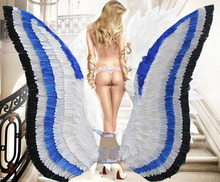 fashion show wings brand wings top quality make to order free shipping(China (Mainland))