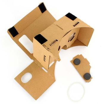 "DIY Google Cardboard Virtual Reality VR Box 2.0 VR HeadsetMobile Phone 3D Viewing Glasses for 5.0"" Screen Google VR 3D Glasses"