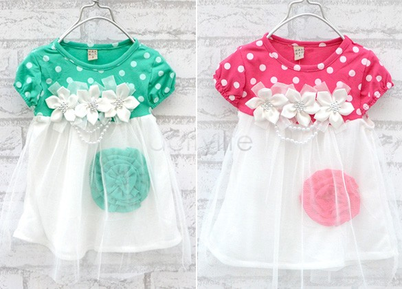 Angel Baby dresses new fashion 2013 summer baby dress baby girl clothes kids flowers cotton dress girls clothes 29(China (Mainland))